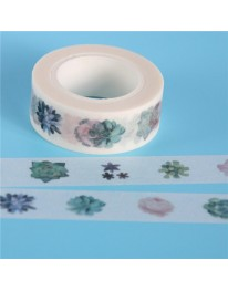 Succulent Washi Tape