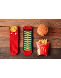 French Fries// Burger Socks