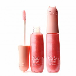 Cats Wink Lipgloss// Shimmery Pink