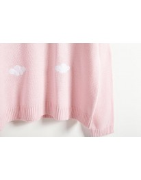 Cloudy Sweater// Pink