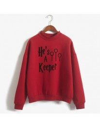 He's a keeper Harry Potter Sweatshirt