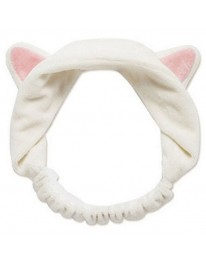 Cat Makeup Headband// White