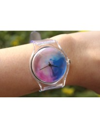 Watercolour Clear Watch