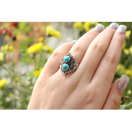 Astrid Ring// Turquoise