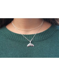 Whale Tail Necklace +Choker