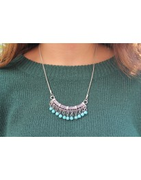 Gypsy Turquoise (Boho)Necklace