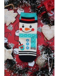 Snowman Christmas Socks