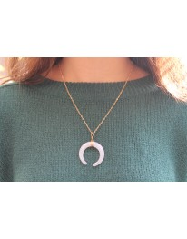 Solace Horn Necklace