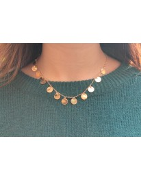 Coin Necklace // Gold