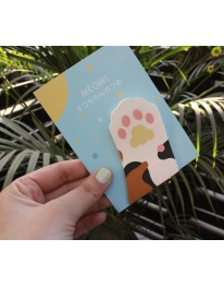 Cat paw Sticky Notes