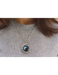 Moon Shine// Eclipse Necklace