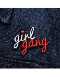 Girl Gang iron On Patch