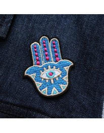 Hamsa Hand Iron On Patch