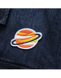 Saturn Iron On Patch // Small