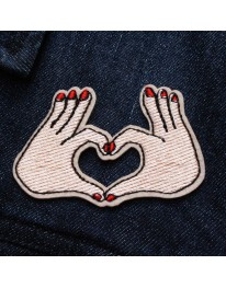 Together Forever Iron On Patch