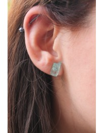 Mint Quartz Earring