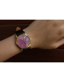 Glitter Watch// Black