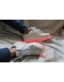 Light Up Shoes + Glow In The Dark Laces