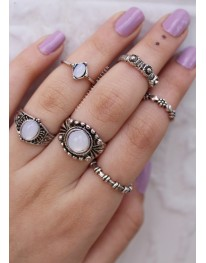Kaya Ring Set (6 Rings)