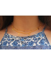 Celestial Necklace // Gold