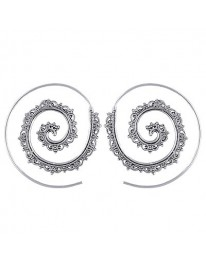 Spiral Boho Earrings