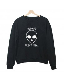 Humans Aren't Real Sweatshirt