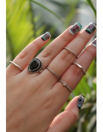 Bellatrix Ring Set