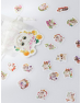 Flower Princess Kitten Sticker Pack
