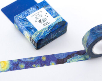 Starry Night Washi Tape