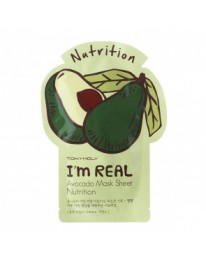 I'm Real Face Mask// Avocado Mask sheet (NUTRITION)