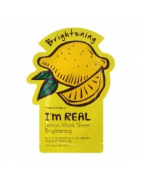 I'm Real Face Mask// Lemon Mask sheet (BRIGHTINING)