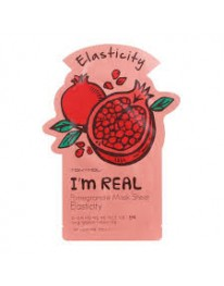 I'm Real Face Mask// Pomegranate Mask sheet (ELASTICITY)