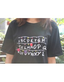 Stranger Things ABC Lights Teeshirt