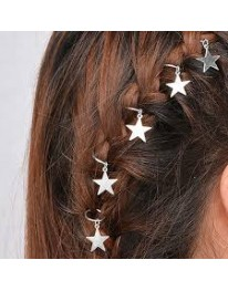 Star Hair Rings